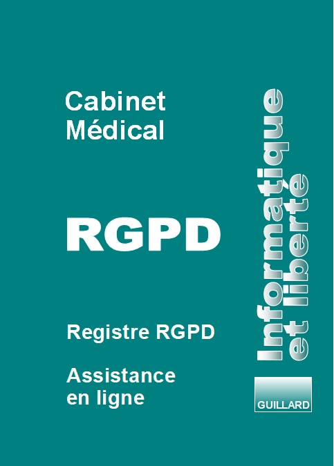Registre RGPD CABINET MEDICAL ET PARAMEDICAL (CNIL NS 50) :  TRAITEMENT DES DONNEES PERSONNELLES - RGPD.CABMED